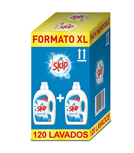 Skip Active Clean Detergente Líquido para Lavadora - Paquet