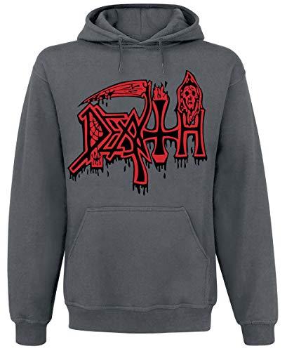 Unbekannt Death Scream Bloody Gore Männer Kapuzenpullover grau XL