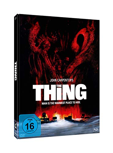 John Carpenter s THE THING #Edwards (3-Disc-Mediabook Edition ) [Blu-ray]