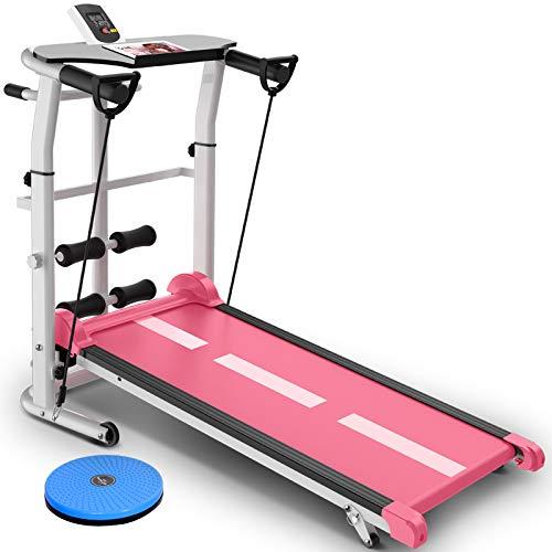 Yunmeng Mechanische hometrainer, eenvoudig inklapbaar, mini-machine voor gewichtsverlies binnenshuis, multifunctionele fitnessuitrusting