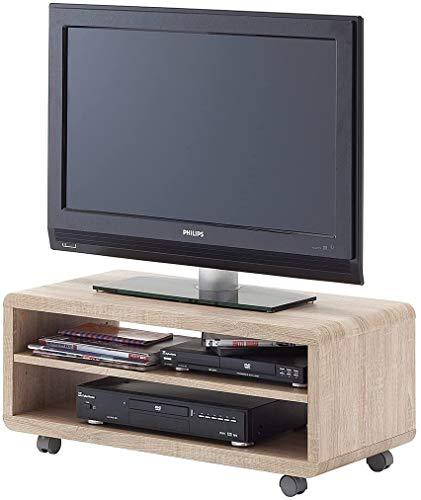 Robas Lund JEFF 7 TV-Board/Media-Board, MDF, ca. 79 x 35 x 39 cm, Eiche sägerau NB