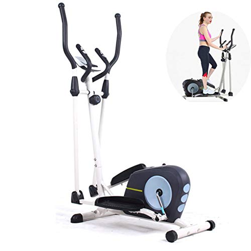 QLGRXWL Vélo elliptique Cross Trainer Vélo elliptique Cross Trainer 2 en 1 Vélo d'appartement Cardio Fitness...