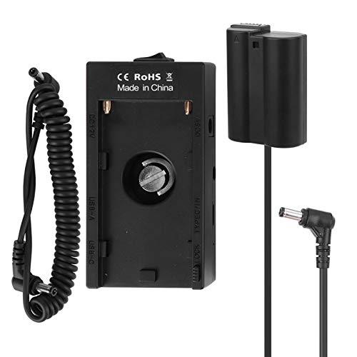 DAUERHAFT Protección del Circuito del Puerto de Salida USB del acoplador de la batería de la cámara, para N-ikon