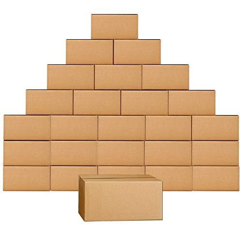 Scatole di spedizione 180X153X153MM,25 Pezzi Scatole cartone per trasloco