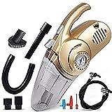 DKEXL 4 in 1 Car Vacuum Cleaner + Air Pump Car Electrical...