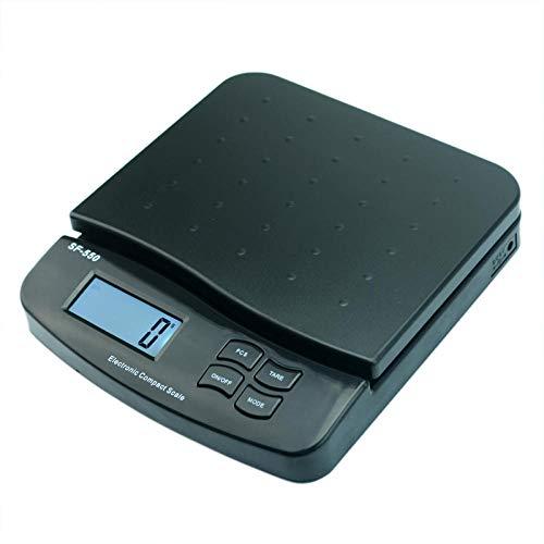 Mini Escala Multipropósito 25Kg / 55Lb Lcd Electronic Postal Scale Parcel Carta Franqueo De Correo Balanzas De Envío Envío Cocina Tienda Comercial Peso Balance