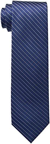Calvin Klein Men's Ties, Navy III, Regular