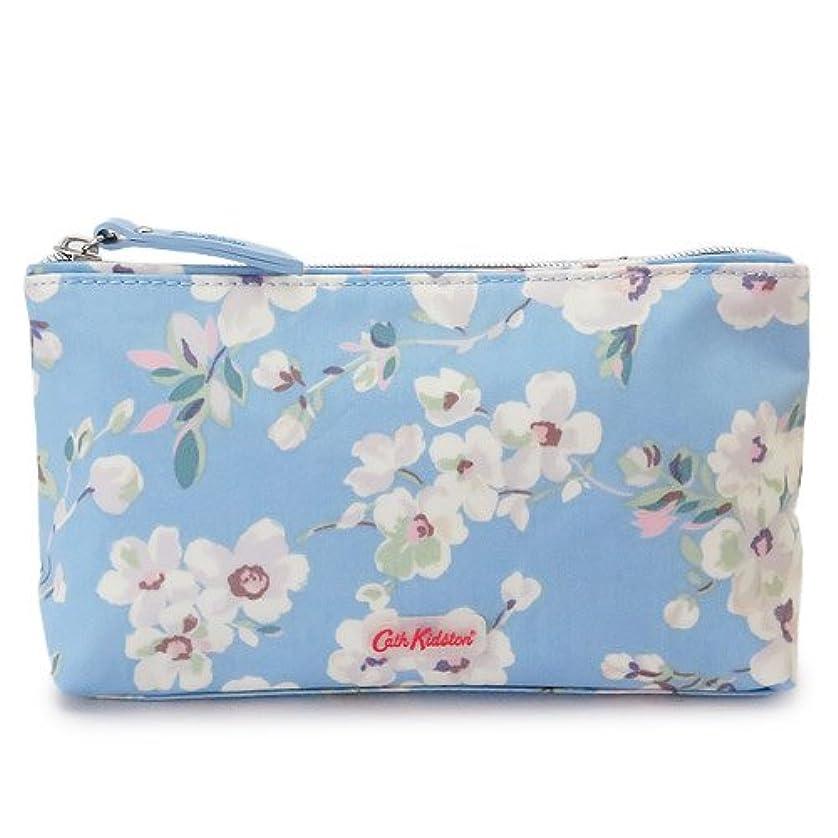 (キャスキッドソン) Cath Kidston メイクアップバッグ 754187/MAKE UP BAG WELLESLEY BLOSSOM SOFT BLUE コスメポーチ キャンバス ウェルズリー ブロッサム ソフトブルー [並行輸入品]