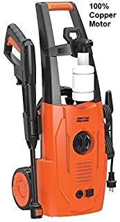 American Micronic- AMI-PW1-1500WDx- 120 Bar (140 Bar hose), 1500 Watts Pressure Washer, Variable spray nozzle, 20 feet (6 ...