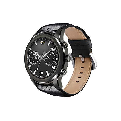 MROSW X5 Air Smart Watch Phone Android 5.1 OS 2GB RAM 16GB ROM WiFi 3G Heart Rate Monitor Bluetooth MTK6580 Quad Core Watch,Black