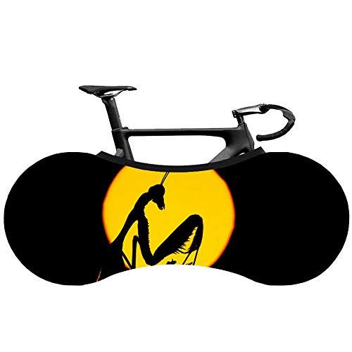 XYJPD Funda Bicicleta Cubierta De Rueda De Bicicleta A Prueba De Polvo Y UV para Interiores Cubierta De Neumático Anti-Arañazos.-Libélula-(160X55Cm)