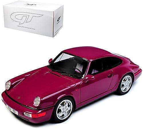 GT Spirit Porsche 911 964 Carrera RS lilat 1988-1994 ZM 110 limitiert 1 von 504 Stück 1 18 Modell Auto mit individiuellem Wunschkennzeichen