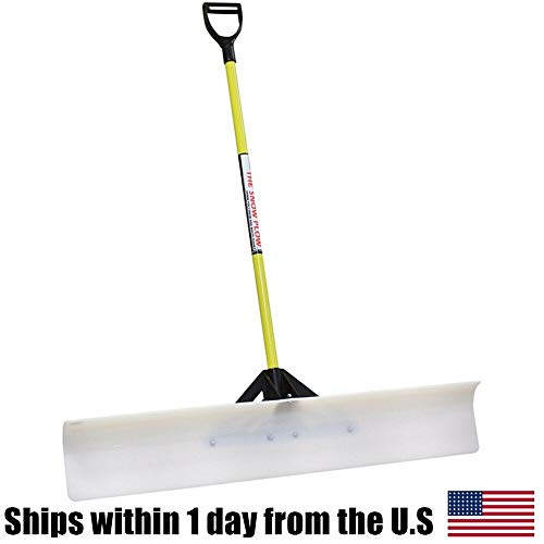 Buy The Snow Plow 48 Snow Shovel 50548 Poly Blade D-Handle Snow Pusher SnowPlow