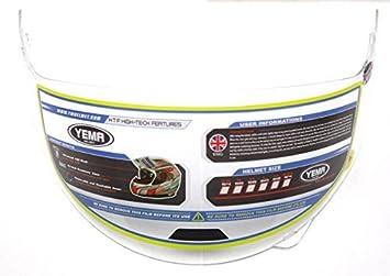 Clear YEMA Helmet Visor Face Shield for YM-627