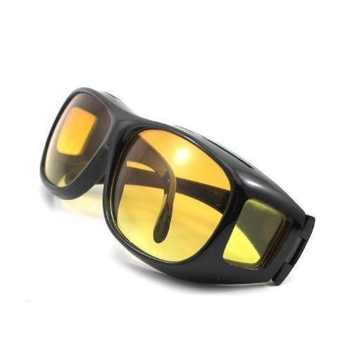 HD Night Vision Wraparounds Wrap Around Glasses (With package)