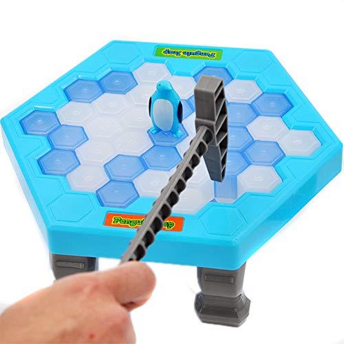 Juego De Pingüino Ahorre El Pingüino Trampa Pingüino Para Romper El Hielo Mesa De Juego Para Niños Juegos De Tabla Juego Interactivos De La Familia Juguetes Educativos Para Niños
