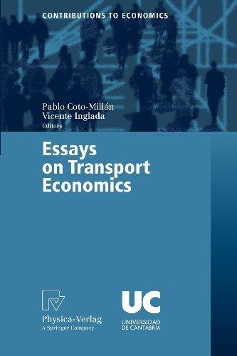 Essays on Transport Economics (Contributions to Economics)