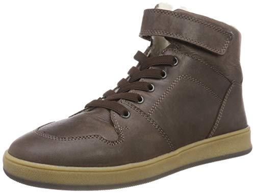 Richter Kinderschuhe Jungen Special Hohe Sneaker, Braun (Coffee 9500), 35 EU