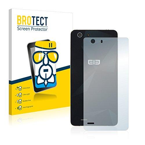 BROTECT Panzerglas Schutzfolie kompatibel mit Elephone S2 Plus (Rückseite) - AirGlass, 9H Festigkeit, Anti-Fingerprint, HD-Clear