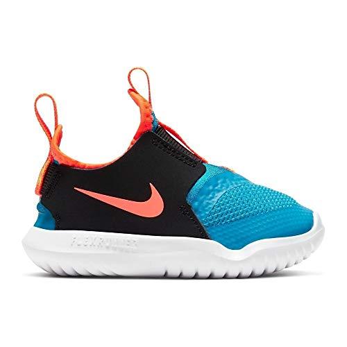 Nike Flex Runner (TD), Scarpe da Corsa Unisex-Bambini, Laser Blue/Hyper Crimson-Black