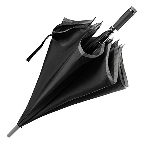 Hugo Boss – Paraguas de ciudad GEAR BLACK – Paraguas