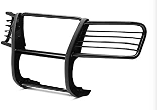 TAC Grill Guard Compatible with 1999-2002 Chevy Silverado 1500LD / 2000-2006 Chevy Suburban 1500/ Tahoe 1500 Black Front Brush Bumper Guard Grille Guard Push Guard Off Road Exterior Accessories