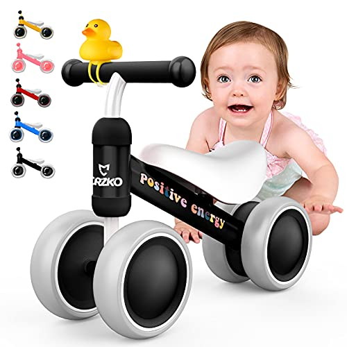 CRZKO Kinder Laufrad, Kleinkind Balance Fahrrad Kinder Laufrad ab 1 Jahr...