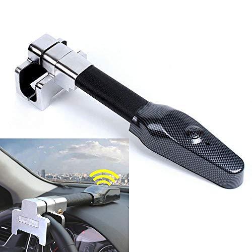 Xljh Voiture Volant antivol antivol Auto défense Guidon serrures Embrayage sécuritéProtection antivol de Volant avec Avertissement d'été