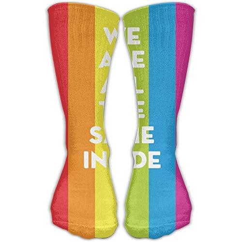 DLing Frauen Männer Klassiker Socken Egal LGBT Schwule Lesben Sportstrümpfe Lange Socke Einheitsgröße 30 cm