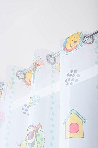 Visillo Infantil Estampado 145 x 245 cm para Cuarto de Niños con...
