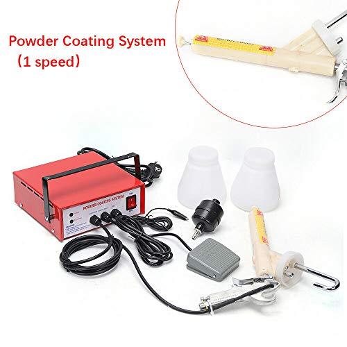 DiLiBee PC03 - Pistola de pulverización electrostática con accesorios (220 V)