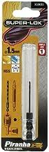 BLACK+DECKER X50003-XJ Piranha Super-Lok HSS zeskantschacht, 1,5 x 62 mm