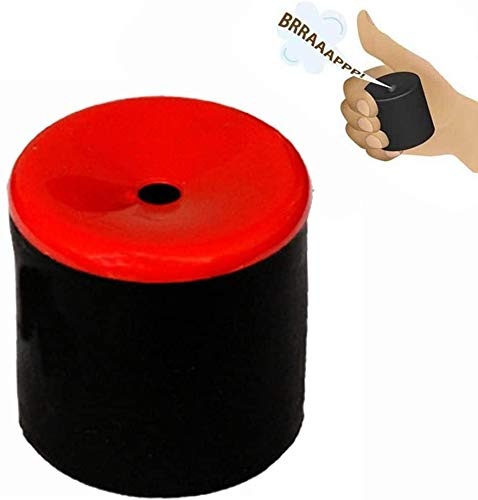 Create Farting Sound Fart Gag Joke Machine,Fart Pooter Gag Prank Joke Novelty Gadgets Novelty Toys Gift (Red cover)