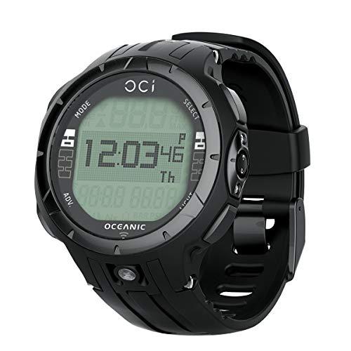 Oceanic Oci ordenador inalámbrico buceo reloj-Reloj sólo para submarinismo, negro