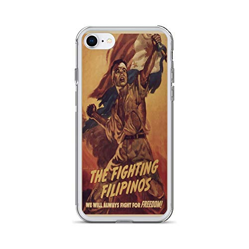 Vintage Poster - The Fighting Filipinos 1215 - iPhone 8 Phone Case