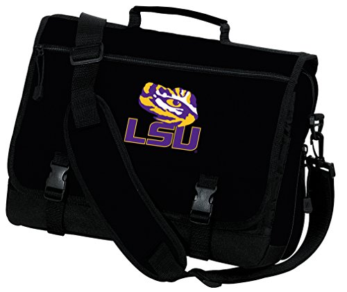 Broad Bay LSU Tigers Laptop Bag LSU Computer Bag or Messenger Bag