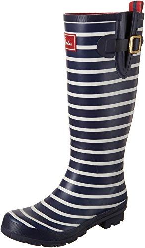 Tom Joule Tom Joule Welly Print, Damen Stiefel, Blau (French Navy Stripe), 36 EU (3 UK)