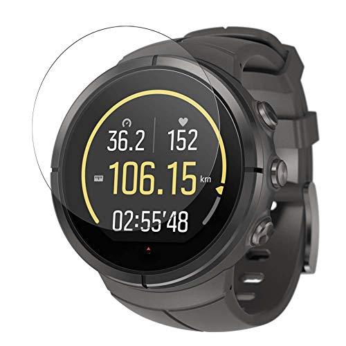 Vaxson 3 Stück Schutzfolie, kompatibel mit Suunto Spartan Ultra Titanium Smart Watch, Displayschutzfolie TPU Folie [nicht Panzerglas] New Version