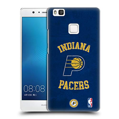 Official NBA Distressed Look 2019/20 Indiana Pacers Hard Back Case Compatible for Huawei P9 Lite / G9 Lite