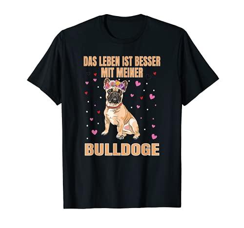 Frenchie - Soporte para perros con purpurina, diseño de bulldog francés Camiseta