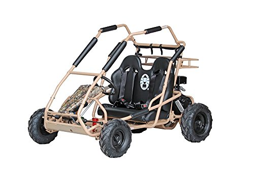 Coleman Powersports Off Road Go Kart | Gas Powered, 196cc/6.5hp, Camo | KT196 model
