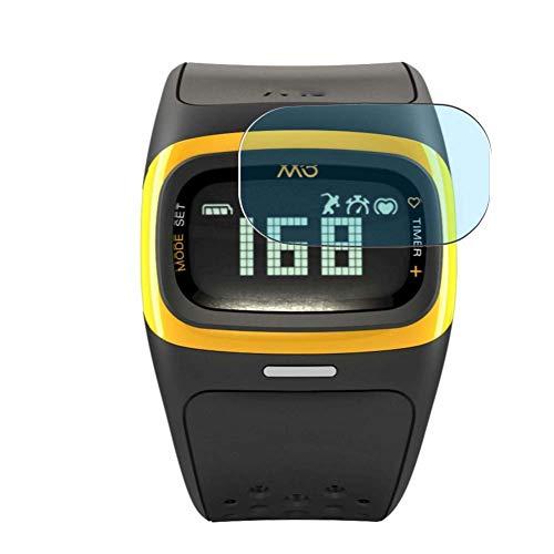 Vaxson 3 Unidades Protector de Pantalla Anti Luz Azul, compatible con Mio Alpha 2 smartwatch Smart Watch [No Vidrio Templado] TPU Película Protectora