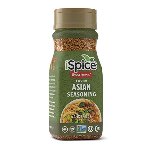 iSpice - ASIAN SEASONING World Flavor Super Spice Blend   All Natural   Ready to use as is   No preparation is necessary