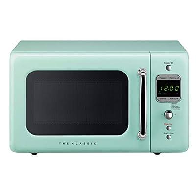 WINIADAEWOO ELECTRONICS WOR07R2ZEM Retro Microwave Oven, 0.7 Cu Ft, Mint