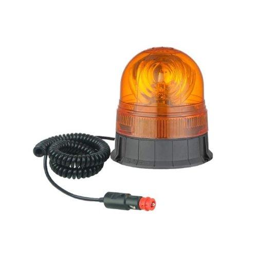 JBM 51960 Girofaro con Cable imantado, Naranja y Negro