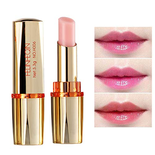 Edanta Long Lasting Anti Cracking Temperature Color Changing Lipstick Natural Beauty Lip Makeup Luxury Friendly Vegan Lipstick for Women and Girls (Pack of 1)