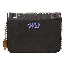 Han Solo Millenium Falcon Operations Manual Bag, Disney Star Wars Crossbody Purse