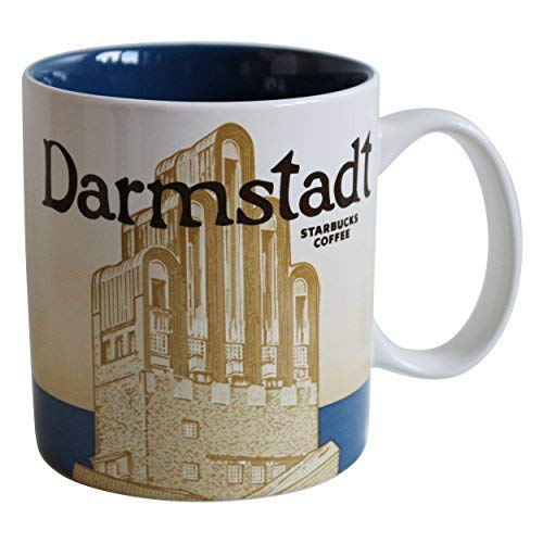 Starbucks Kaffeebecher Kaffee City Mug Tee Tasse Becher Icon Series Darmstadt Deutschland Germany
