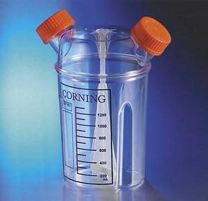 Over item handling Corning 3580 Plastic Max 64% OFF Disposable Spinner Flask Cap Vent Ste with