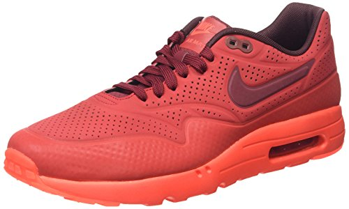 Nike Men's Air Max 1 Ultra Moire Gym Red/Team Red/Unvrsty Red Running Shoe 12 Men US